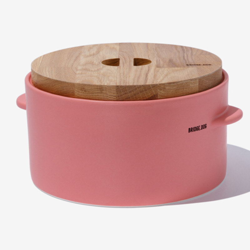FEED BUCKET - PINK(WITH CUP)