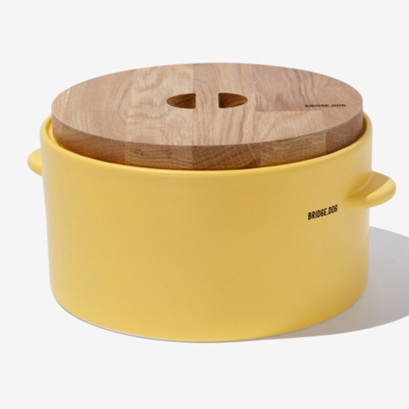 FEED BUCKET - YELLOW(WITH CUP)