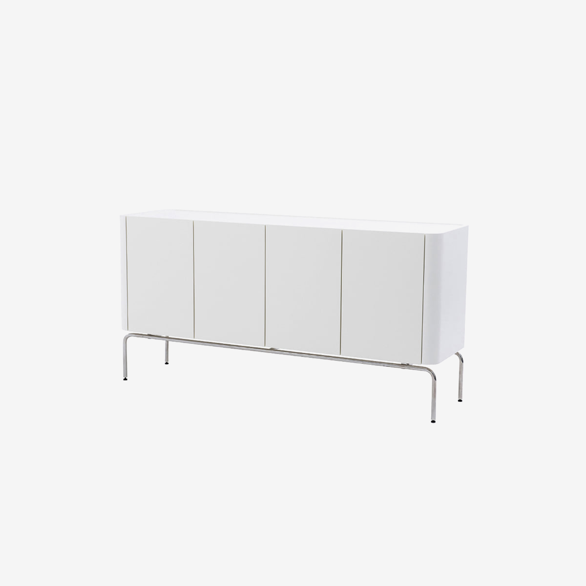 플러스탠 LINEA SIDE BOARD WHITE 1600