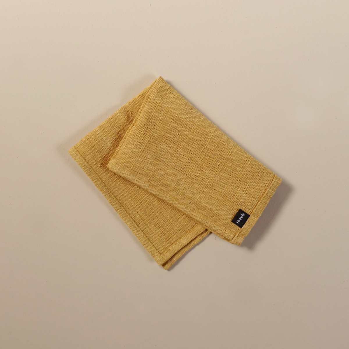 개비 Hand-woven Placemat_Jackfruit Yellow