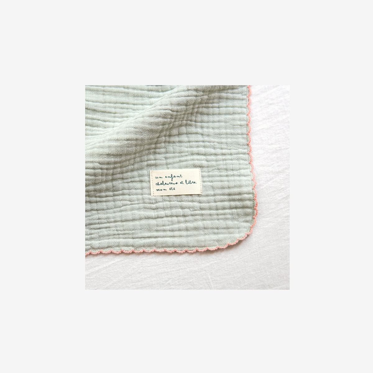 몬에떼 Mignon Blanket - mint