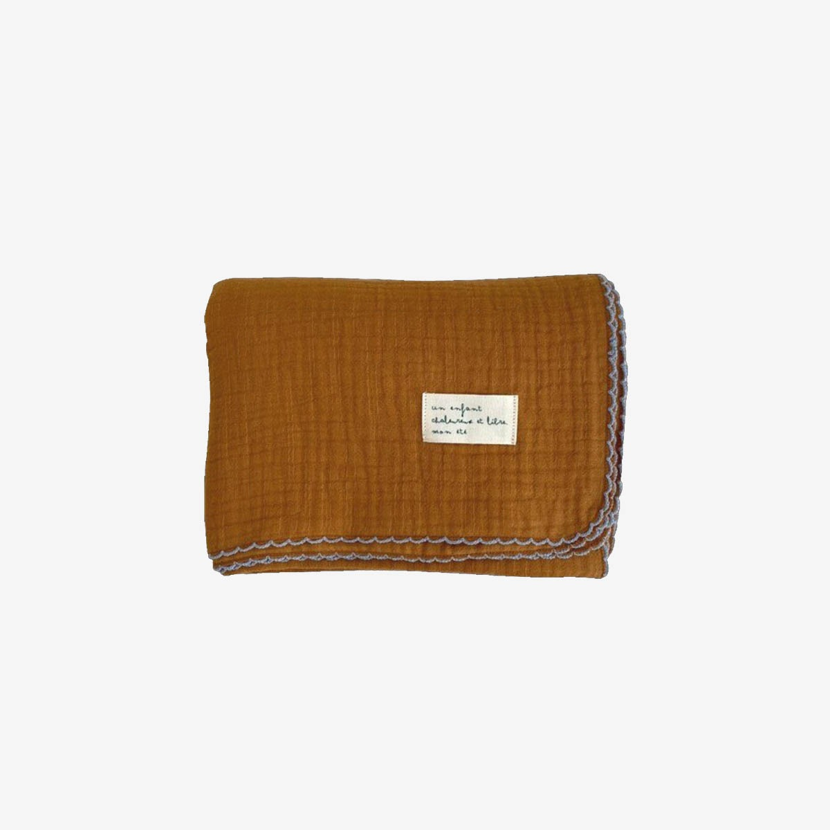 몬에떼 Mignon Blanket - camel brown